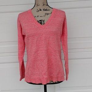 J.Crew Women's V-Neck Wool/Linen Light Sweater S